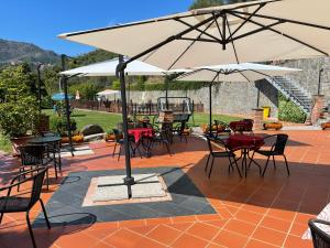 A restaurant or other place to eat at B&B Vignola