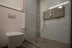 A bathroom at Hotel Tre Ville