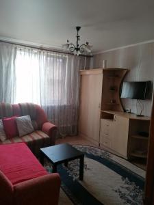 Гостиная зона в Apartments