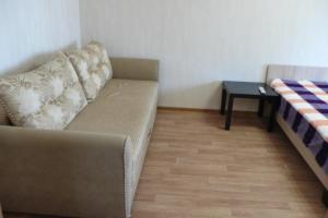 Гостиная зона в Apartment On Uchebnaya 7