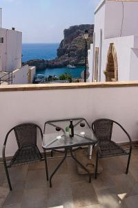 A balcony or terrace at Lindos Panorama