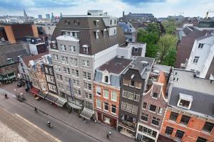 Vue panoramique sur l'établissement Albus Hotel Amsterdam City Centre