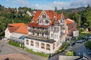 Blick auf Göbel´s Vital Hotel Bad Sachsa aus der Vogelperspektive