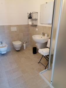 A bathroom at Ferrari Formula 1