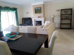 A seating area at Quinta da Boavista