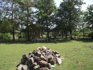 Een tuin van Vakantiehuisjes Landgoed Sonneborghe