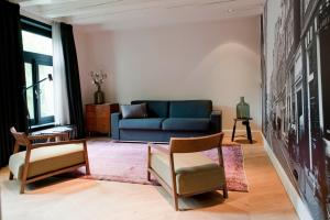 A seating area at Hotel IX Nine Streets Amsterdam