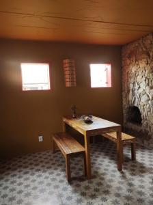 A seating area at Florescer - Lavras Novas