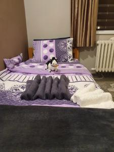 Krevet ili kreveti u jedinici u okviru objekta Guest House Jasmin
