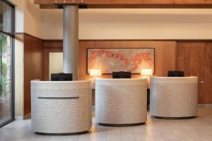 The lobby or reception area at Amara Resort & Spa