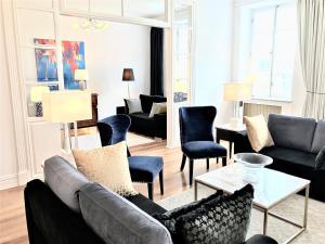 Część wypoczynkowa w obiekcie Luxury Apartments MONDRIAN Market Square II