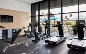The fitness centre and/or fitness facilities at The William Vale