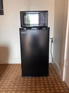 A television and/or entertainment center at Anson Inn