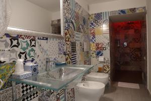 A bathroom at Albergo Del Centro Storico