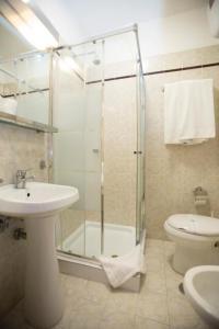 Een badkamer bij Hotel Giubileo