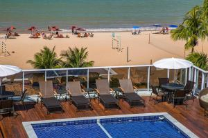 A view of the pool at Laguna Praia Hotel or nearby