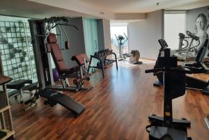 Gimnasio o instalaciones de fitness de Suites del Mar by Melia