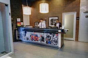 The lobby or reception area at SoHo 54