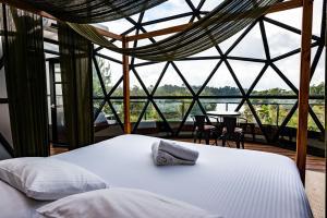 Cama o camas de una habitación en Bosko