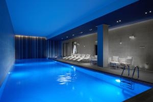 The swimming pool at or near Hilton London Bankside