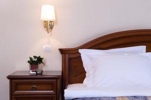 Cama o camas de una habitación en Marins Park Hotel Novosibirsk
