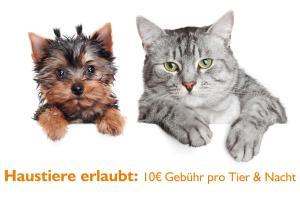 Haustiere von Gästen der Unterkunft Ferien Hotel Spreewald