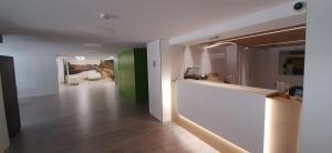 The lobby or reception area at Hotel Azahar
