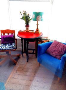 A seating area at AVONNOVA INTERIORS
