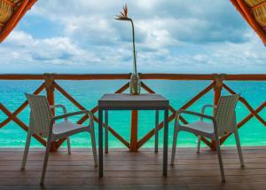 A balcony or terrace at Xiobella Boutique Hotel -Punta de Mita