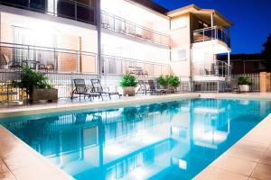 The swimming pool at or near Copacabana Shores