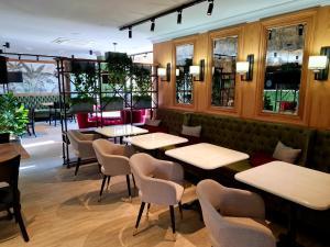 Лаундж или бар в Art Hotel