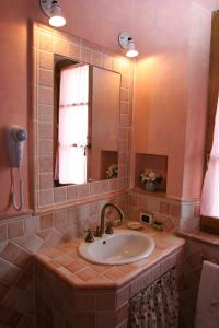 A bathroom at Agriturismo Renaccino