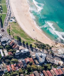 A bird's-eye view of Bondi Beach House