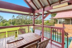 A balcony or terrace at A PERFECT STAY - Toad Hall