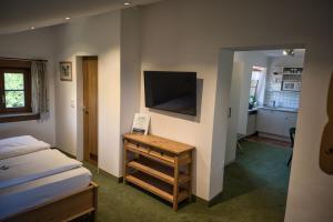 TV/Unterhaltungsangebot in der Unterkunft Alpenhotel Bergzauber