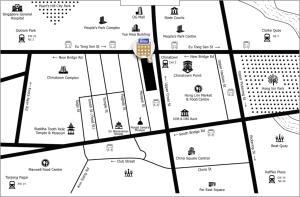Grundriss der Unterkunft Bliss Hotel Singapore (SG Clean, Staycation Approved)