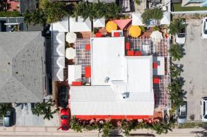 The floor plan of Villa Sinclair Beach Suites and Spa
