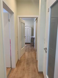 A bathroom at die Senfbude - wunderschöne Apartments für 4 Personen mit Stellplatz