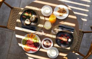 Opcje śniadaniowe w obiekcie Asterion Suites & Spa