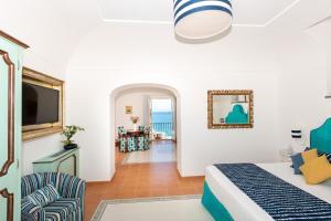 Area soggiorno di Alcione Residence