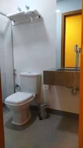 Um banheiro em Minas Platinum Hotel & Convention