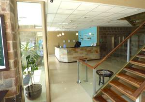 The lobby or reception area at Hotel Australis Yene Hue