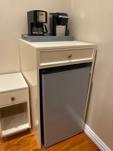 A kitchen or kitchenette at Belnord Hotel