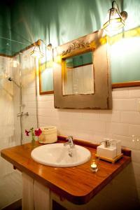 Ein Badezimmer in der Unterkunft La Casa de la Abuela Milagros