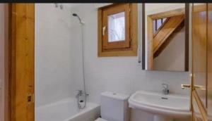 A bathroom at Habitación caleta