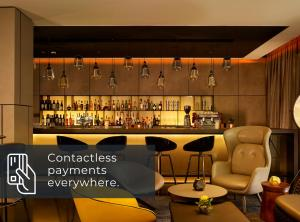 The lounge or bar area at Park Plaza London, Park Royal