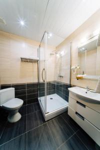 Ванная комната в Гостиница Вилла роща