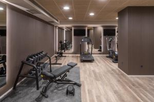 Gimnasio o instalaciones de fitness de Hotel THe Lumm
