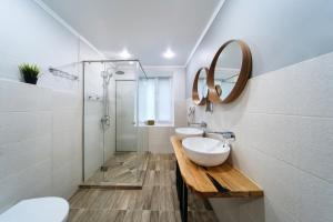 Ванная комната в Апарт-Отель ББ