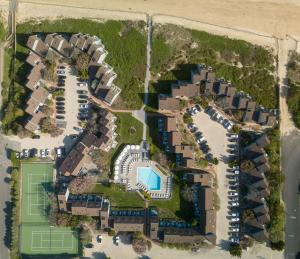 A bird's-eye view of The Surf Club Resort